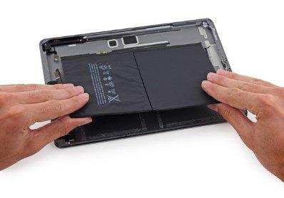 замена аккумулятор на ipad 2